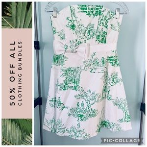 Lilly Pulitzer • Spring Fever Toile Amberly Dress